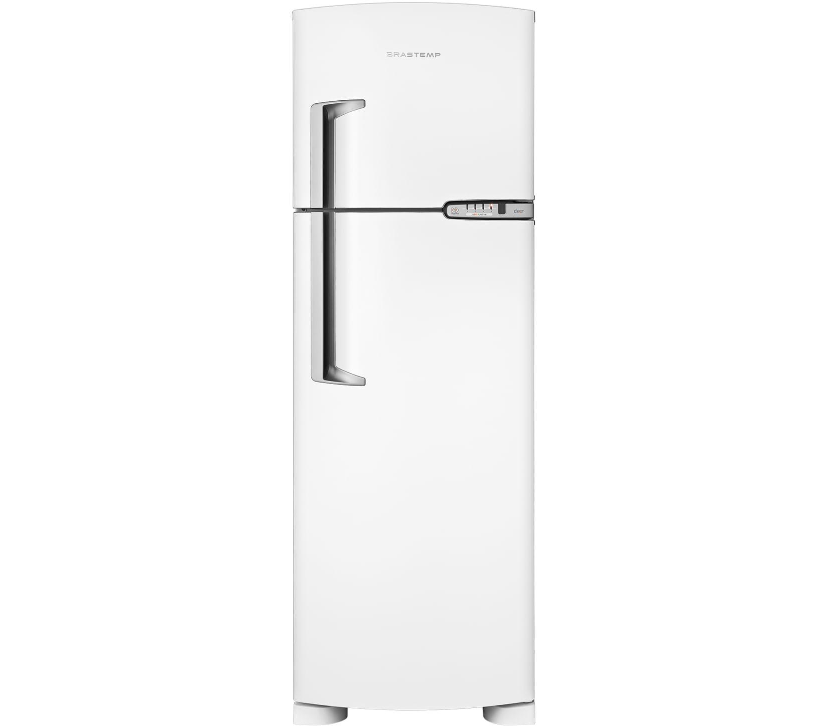 Geladeira Brastemp Frost Free Duplex 378 litros Branca com Porta-Latas
