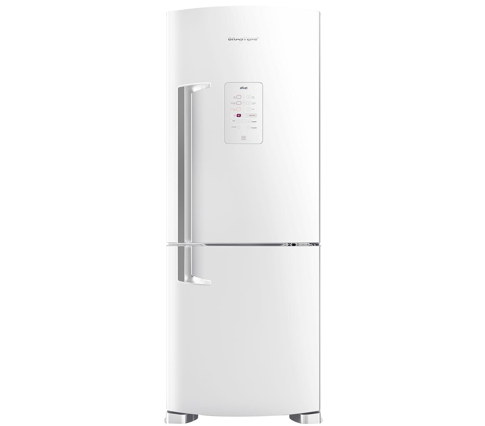 Geladeira Brastemp Frost Free Inverse 422 litros Branca com Smart Ice