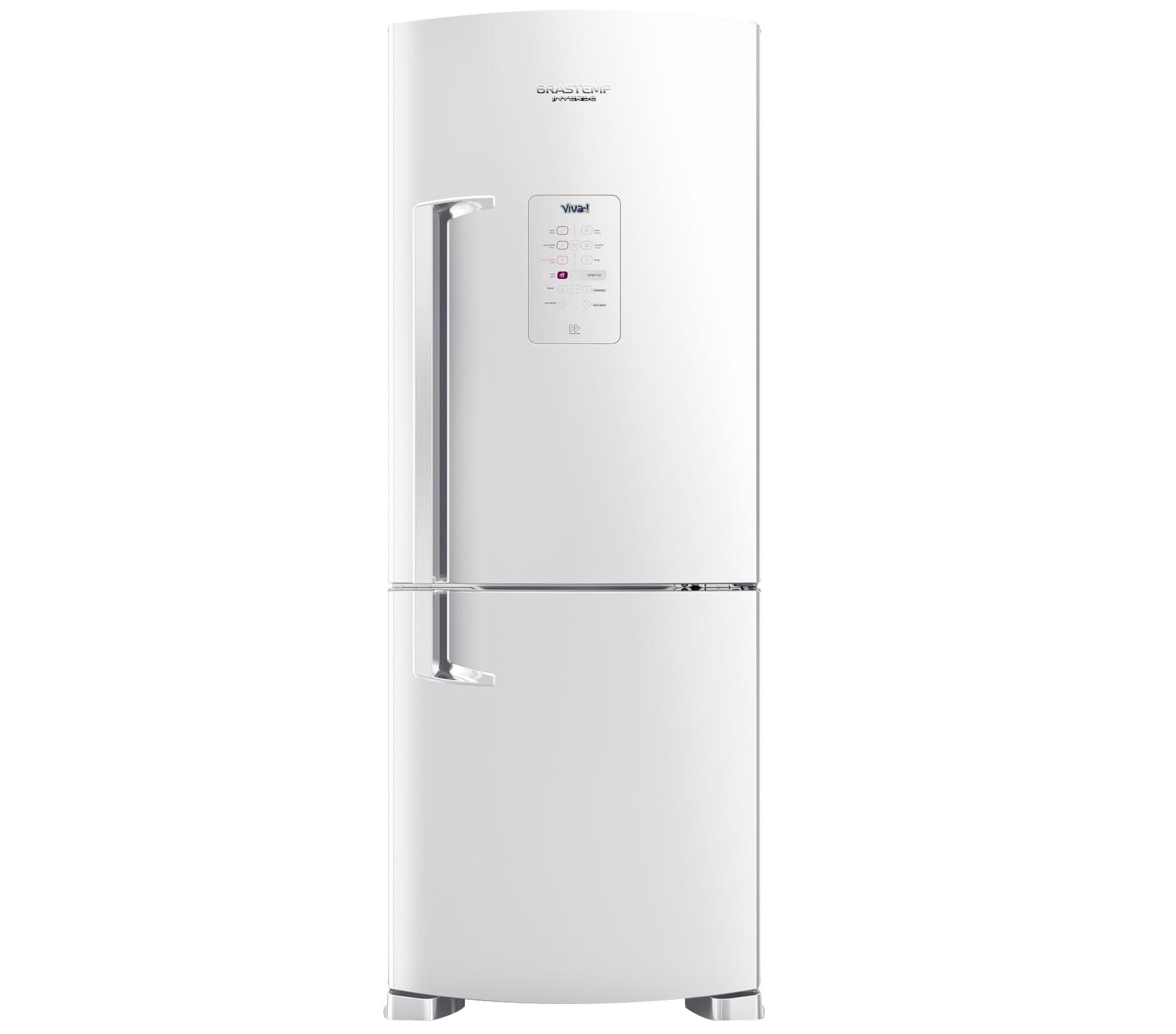 Geladeira Brastemp Frost Free Inverse 422 litros Branca Viva com Smart Ice