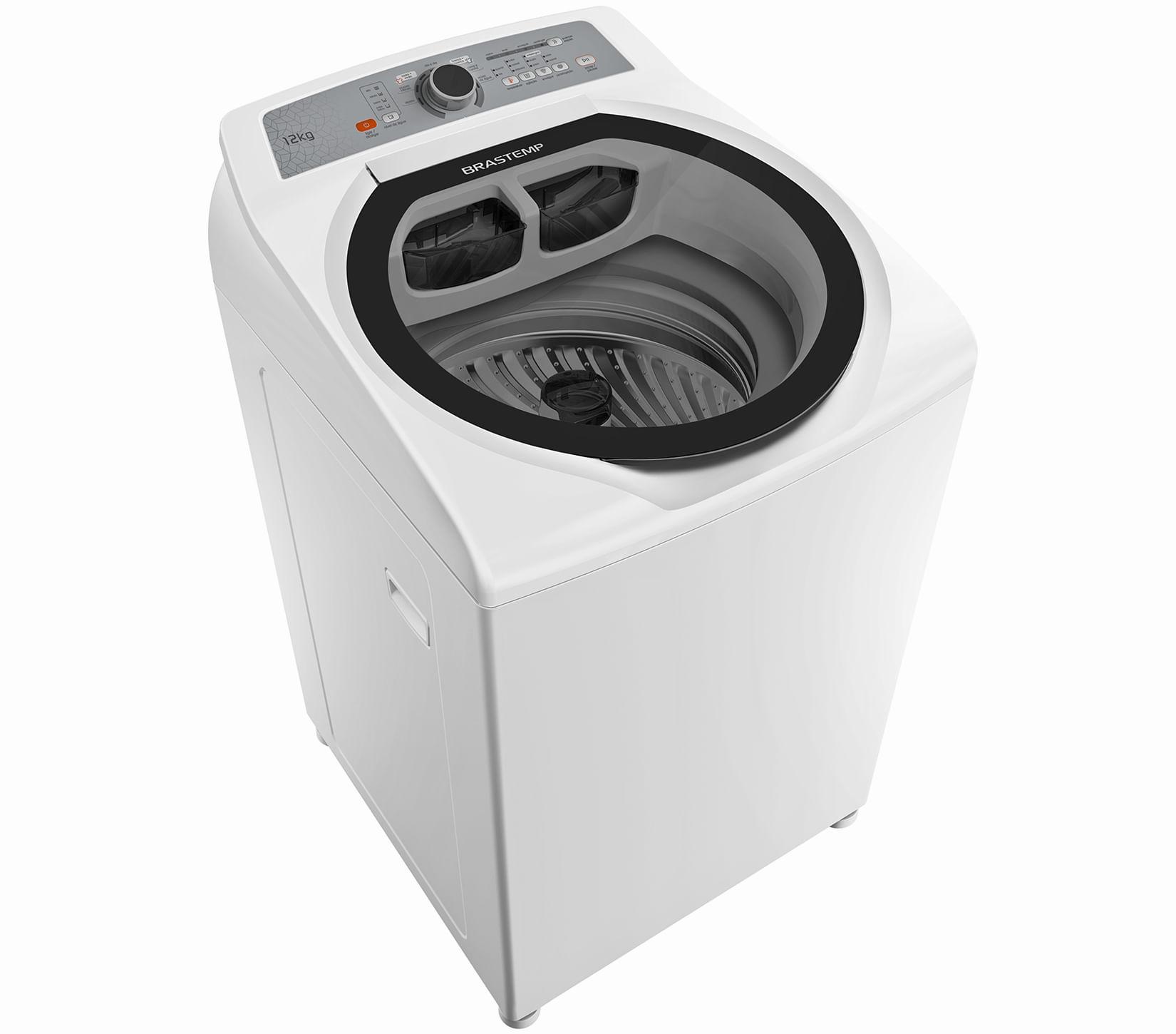 Máquina de Lavar Brastemp 12kg Água Quente com Superfiltro e Enxágue Antiarlégico