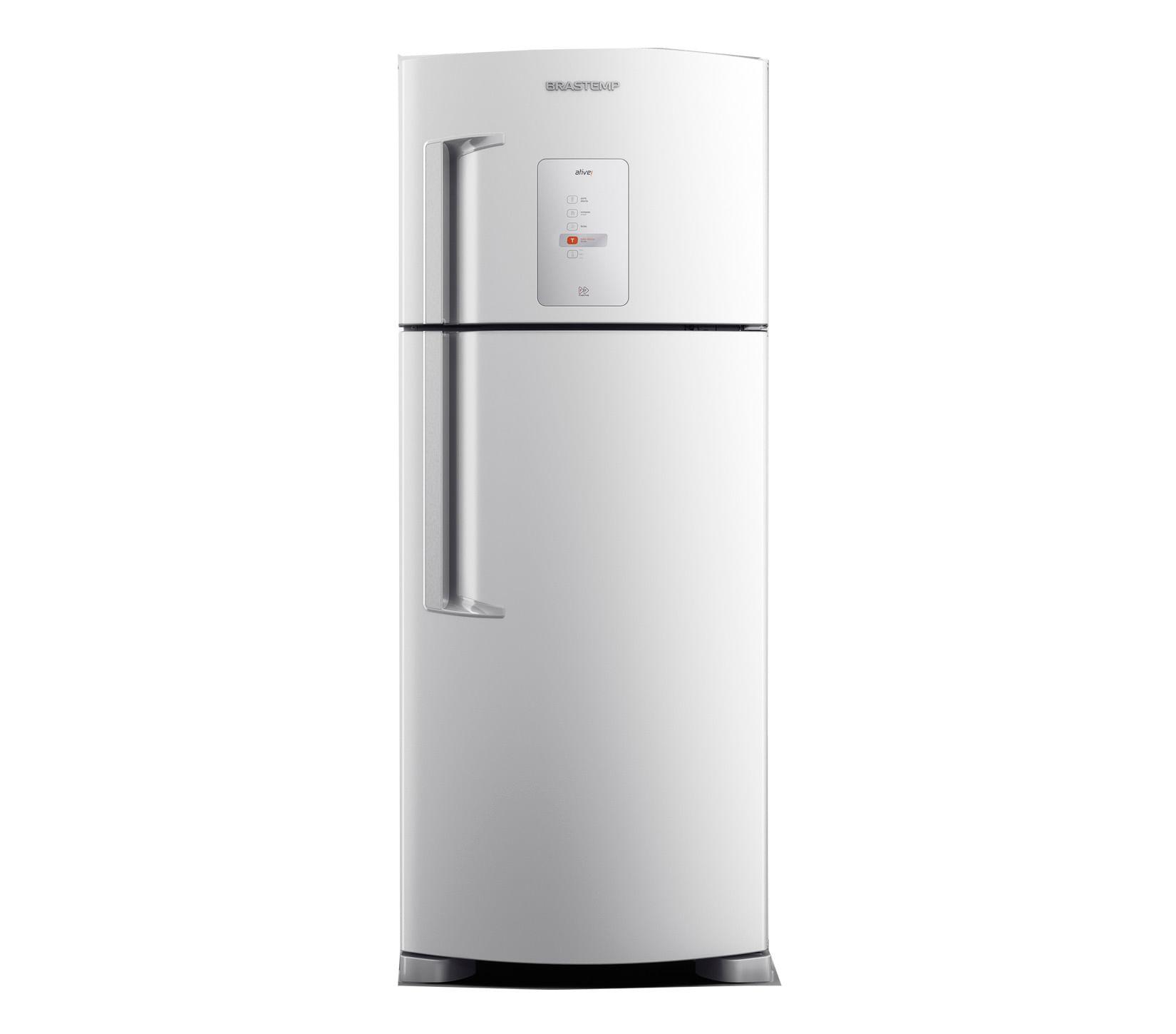 Geladeira Brastemp Frost Free Duplex 429 litros Branca com Twist Ice