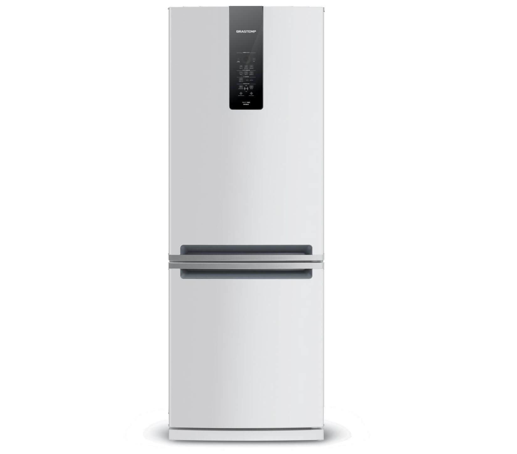 Geladeira Brastemp Frost Free Inverse 460 litros Branca com Freeze Control Advanced
