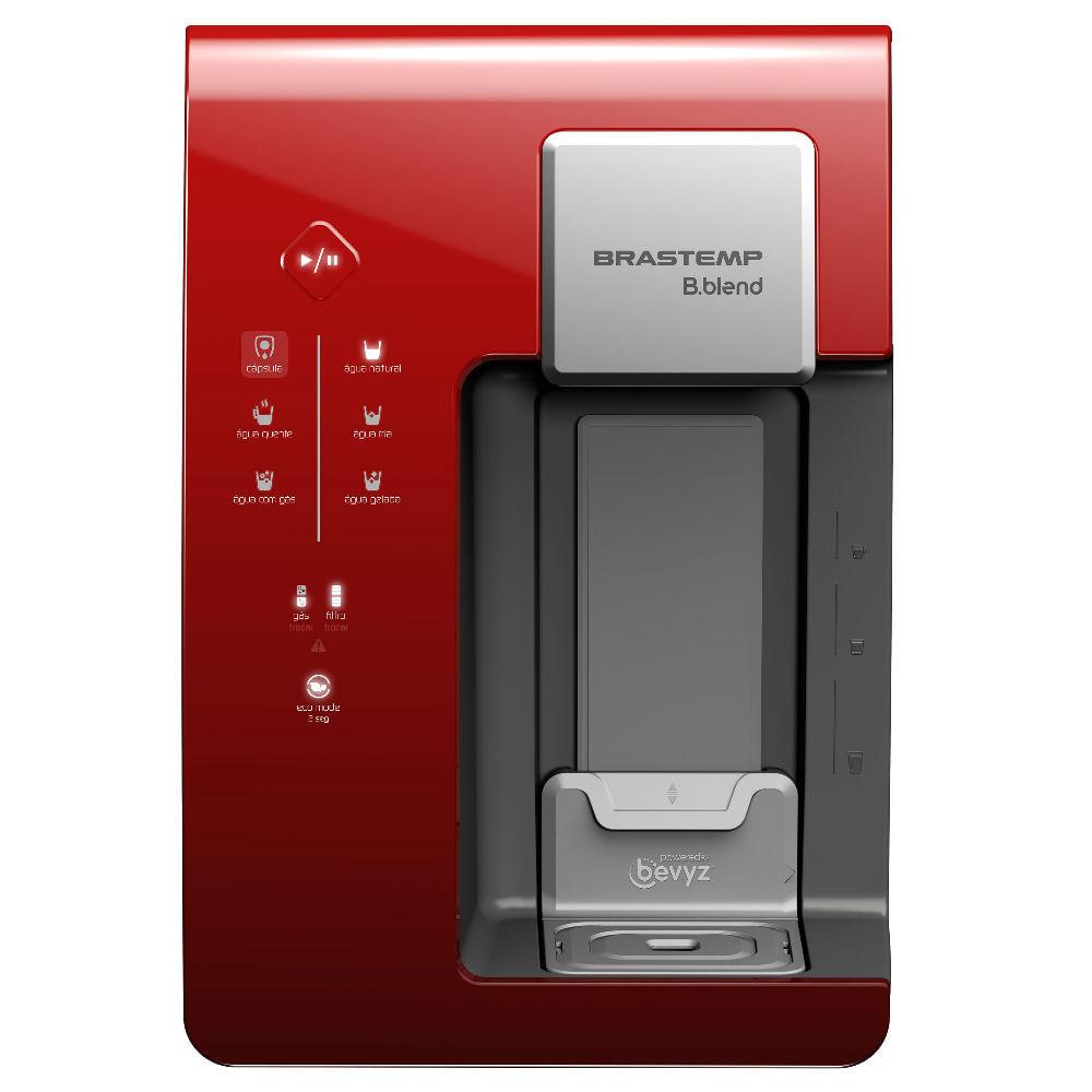 Máquina de Bebidas Brastemp B.blend com purificador - Vermelha - BPG40BV