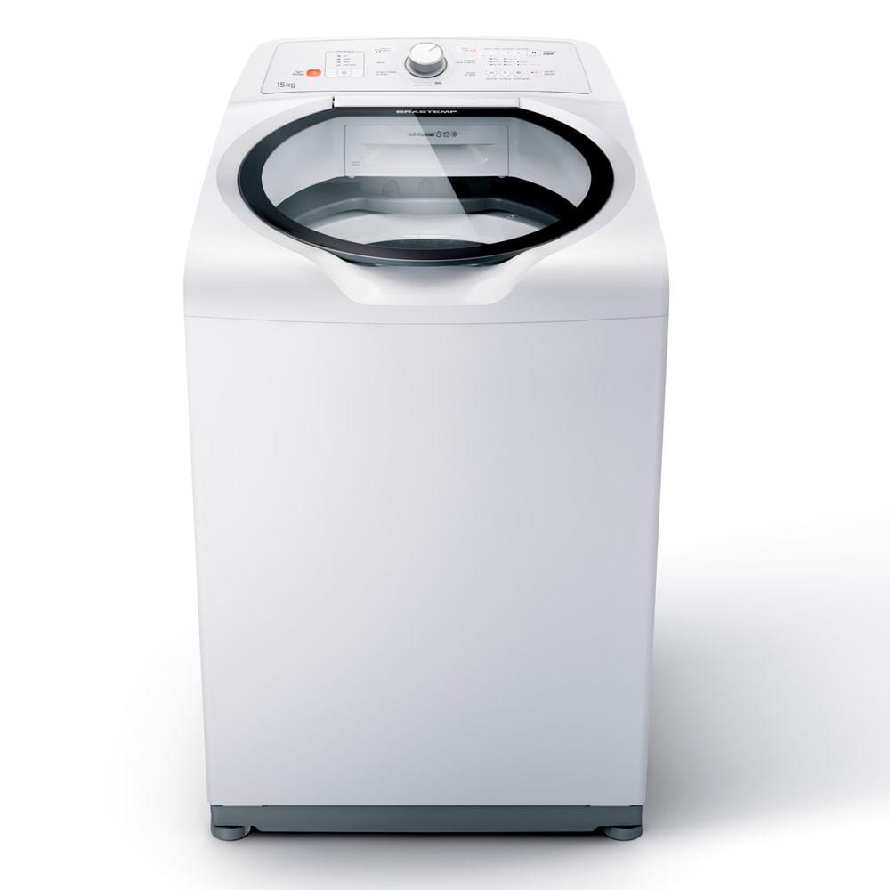 Máquina de Lavar Brastemp 15kg com Ciclo Edredom Especial e Enxágue Anti-Alérgico