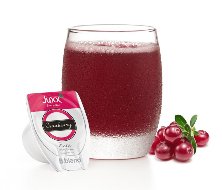 Juxx Cranberry Sem Adição de Açúcares - Kit com 10 cápsulas