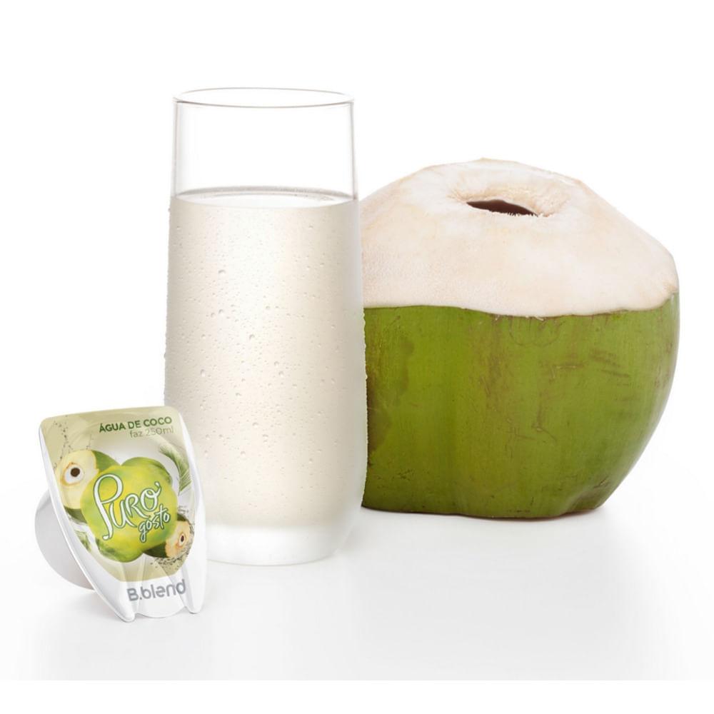 Puro Gosto Água de Coco - Kit com 10 cápsulas