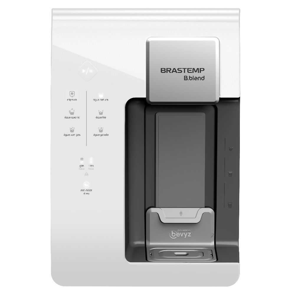 Máquina de Bebidas Brastemp B.blend com purificador - Branco - BPG40DB