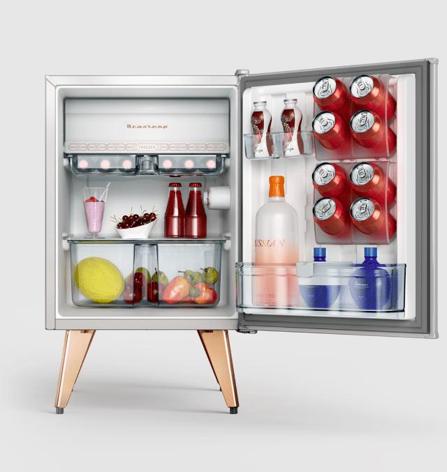 Detalhes do refrigerador